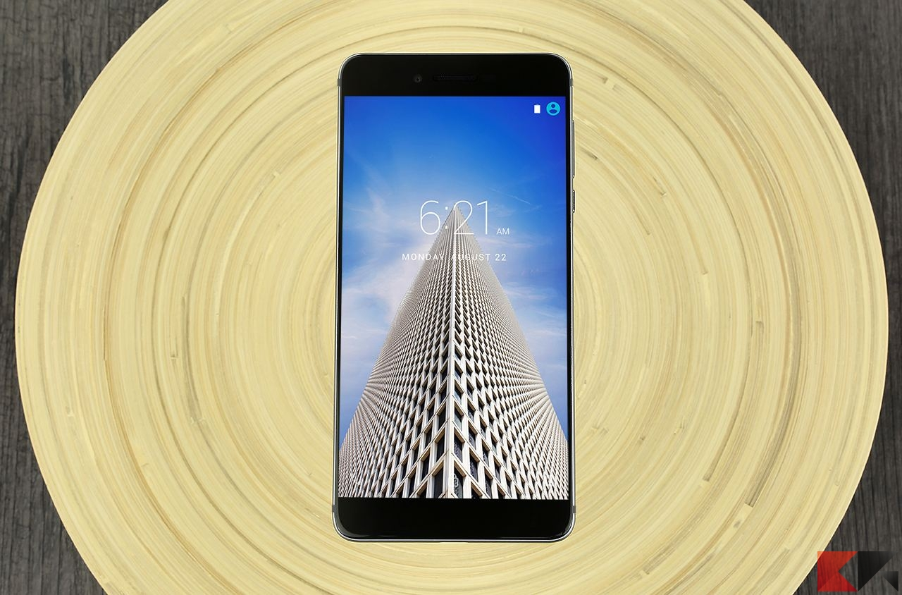 Vernee Mars sfida ambiziosamente iPhone 7