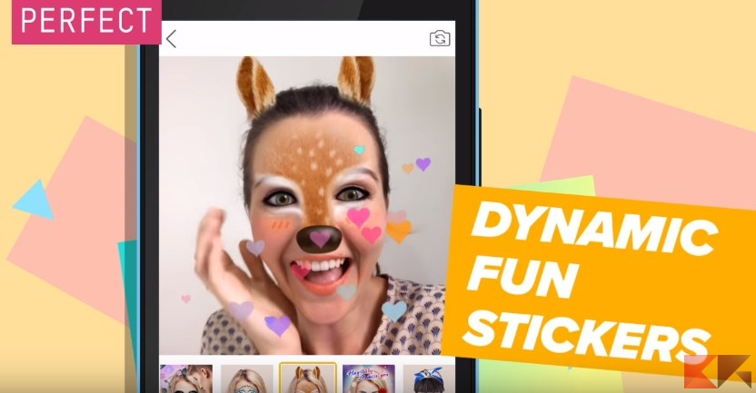 YouCam Fun: l'app perfetta per selfie e filtri