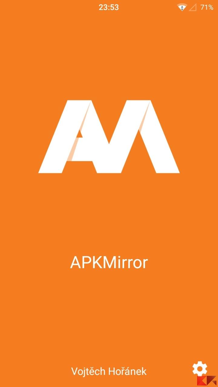 Consultare APKmirror su Android con una comoda app
