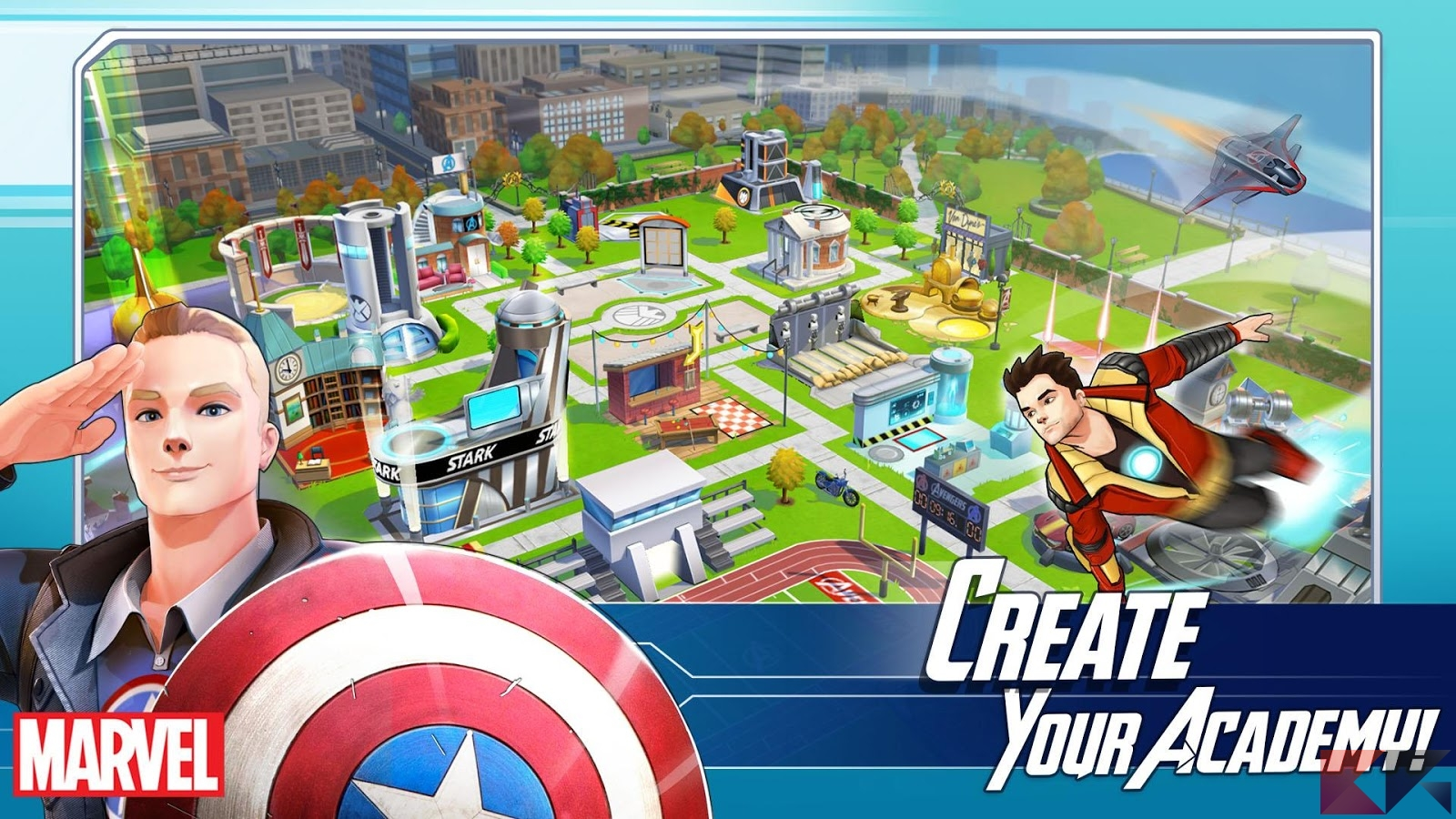Trucchi MARVEL Avengers Academy su Android