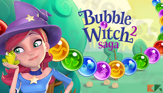Bubble Witch Saga 2: trucchi per Android