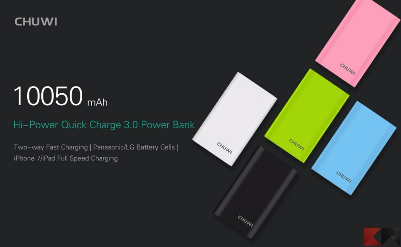 ChuWi Hi-Power: ecco la power bank di ChuWi