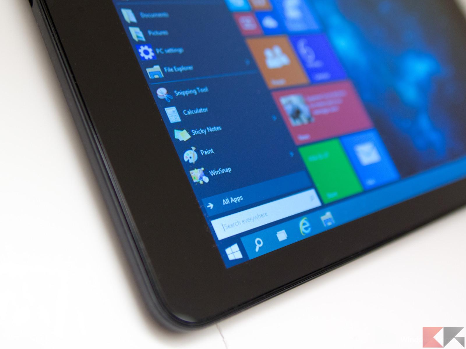 I migliori tablet con Windows 10