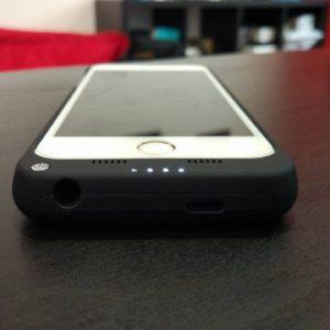 cover Mbuynow con batteria maggiorata 3200 mAh per iPhone 6 e 6s 3