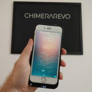 cover Mbuynow con batteria maggiorata 3200 mAh per iPhone 6 e 6s 5