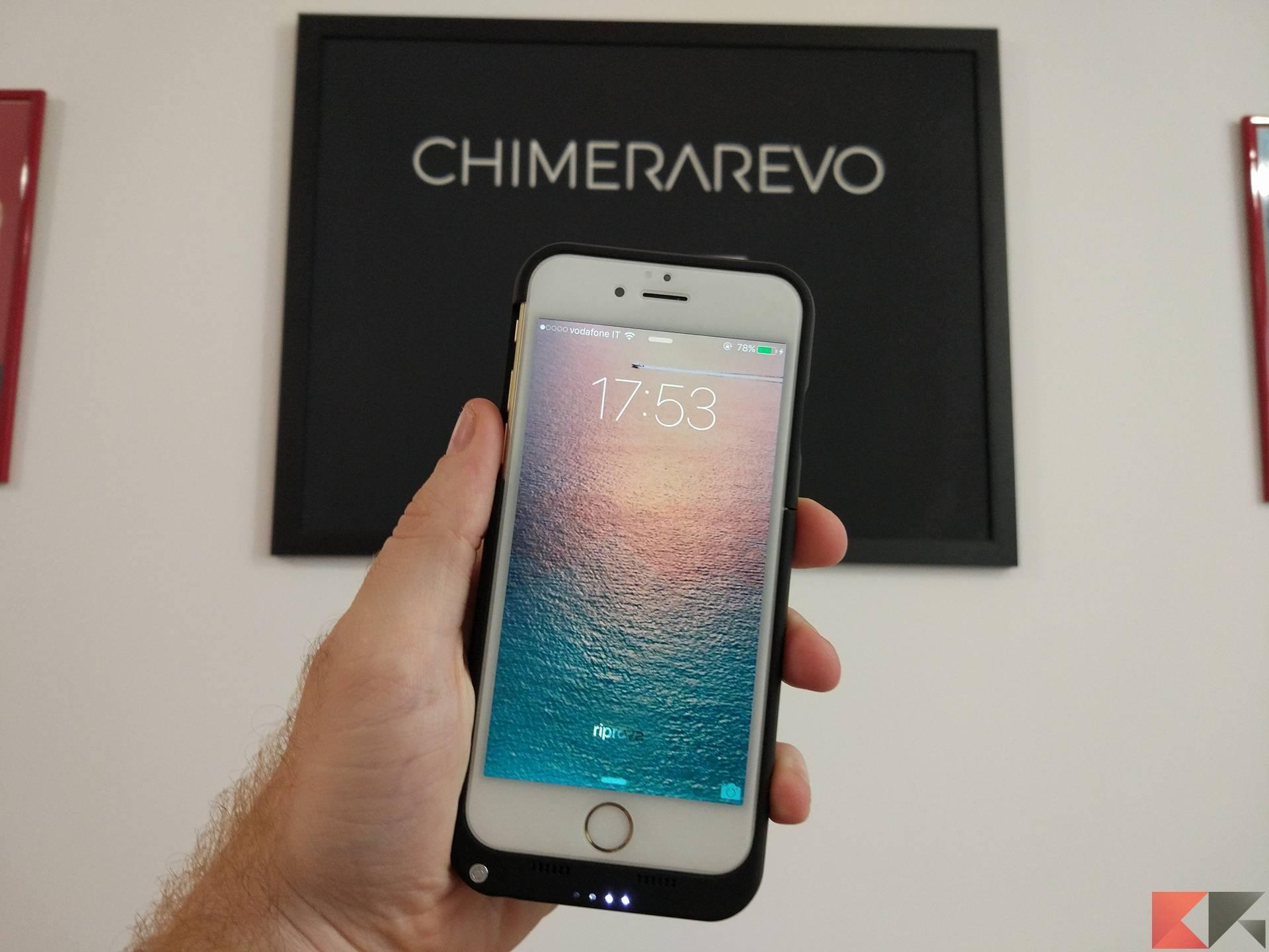iPhone 6/6s: la cover Mbuynow con batteria maggiorata 3200 mAh