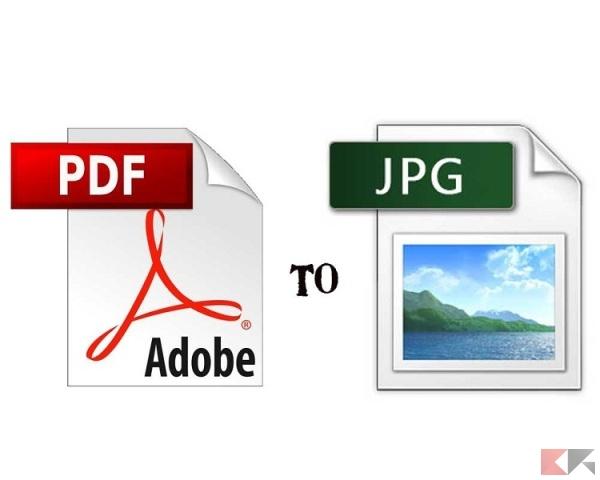 Da PDF a JPG: convertire PDF in immagini