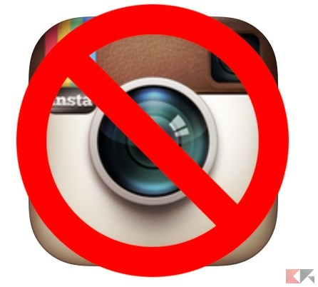 Come cancellare l'account Instagram