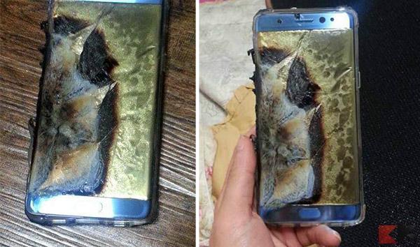 Samsung ritira il nuovo Galaxy Note7 dal mercato