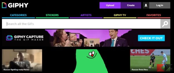 scaricare gif animate - giphy
