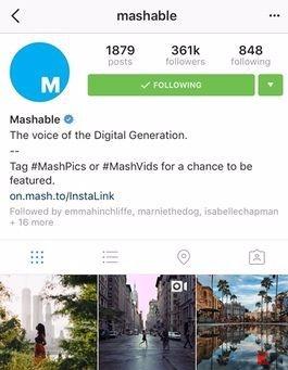 instagram mappe foto