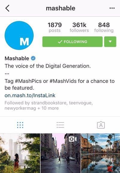 instagram senza mappe foto