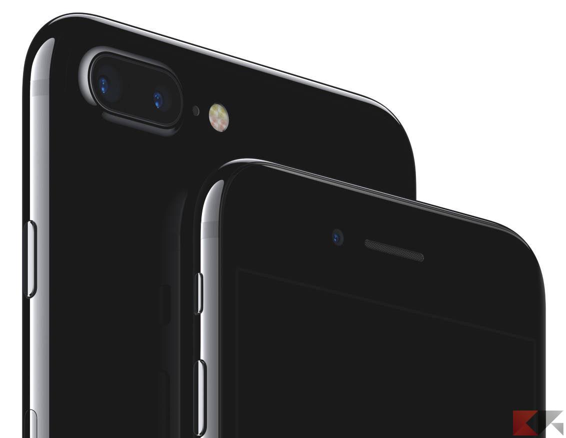 iPhone 7 vs 7 Plus, specifiche a confronto