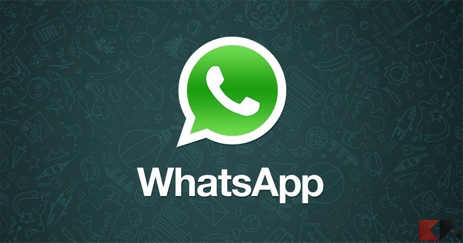 WhatsApp: usare suonerie diverse per ogni contatto