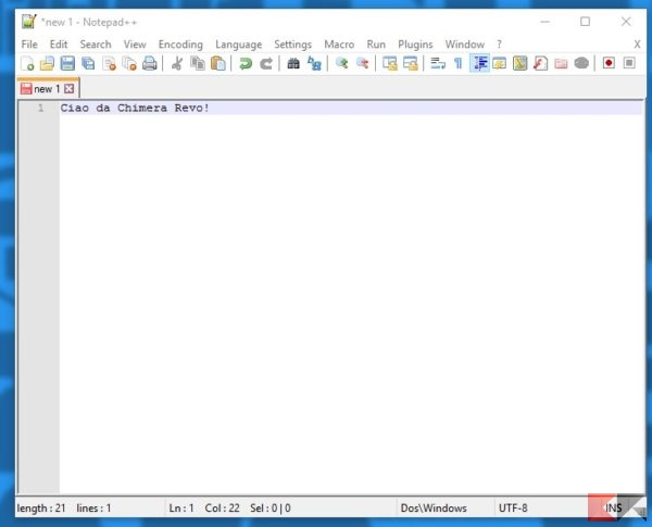 Come cercare testo in pi file con notepad chimerarevo - Testo la finestra ...