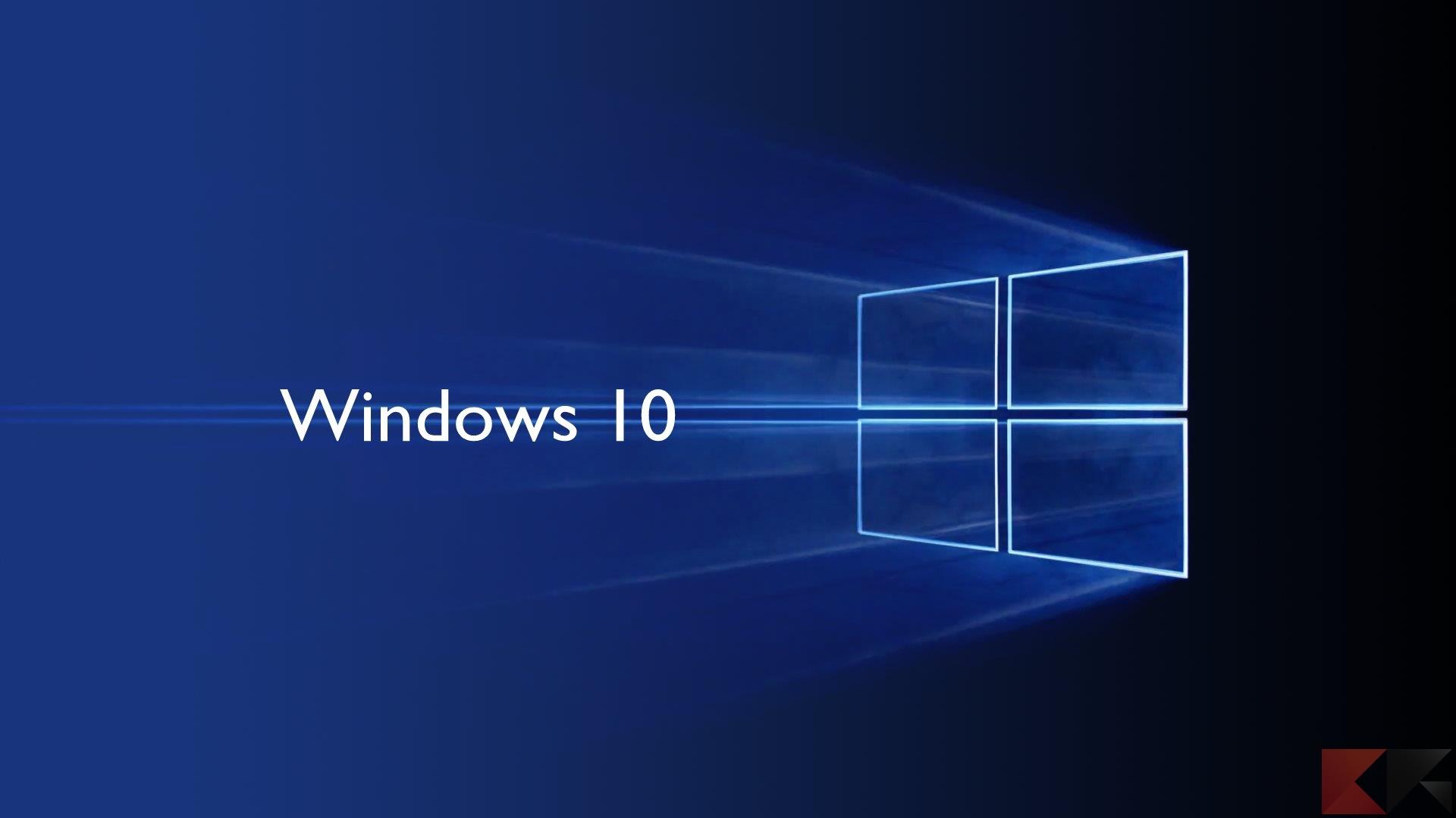 Come ripristinare Windows 10