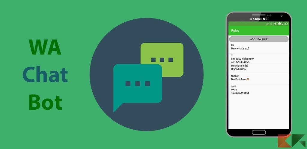 Come rispondere automaticamente su Whatsapp