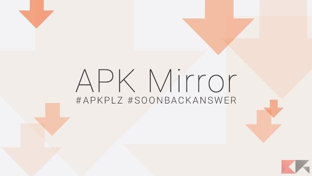 Scaricare APK aggiornati e ricevere notifiche aggiornamenti