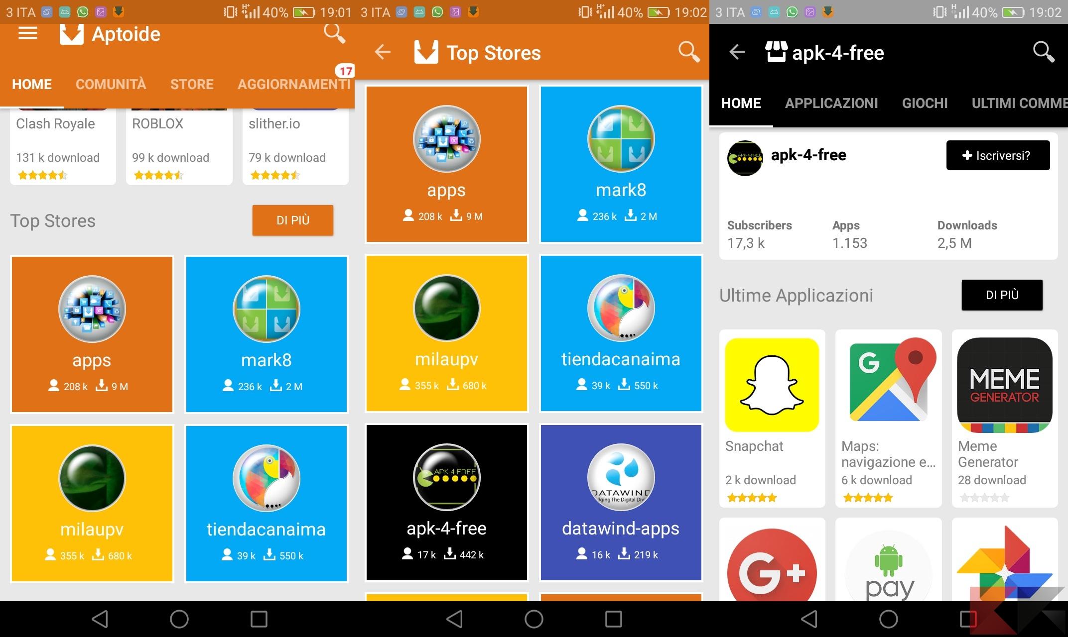 Aptoide: guida e download allo store Android alternativo
