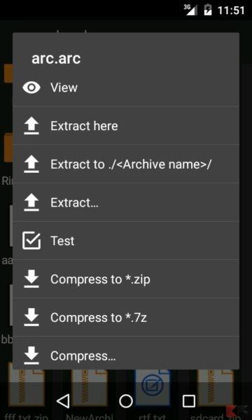 migliori app android RAR 7z ZIP