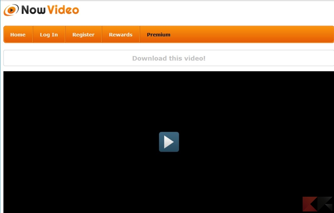 scaricare video da NowVideo