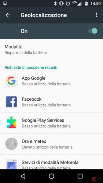 Localizzazione Android- come migliorare il segnale GPS