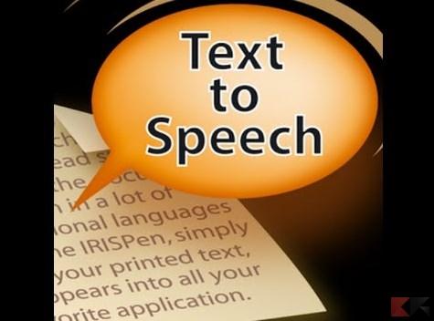 Sintetizzatore vocale: come convertire testo in voce