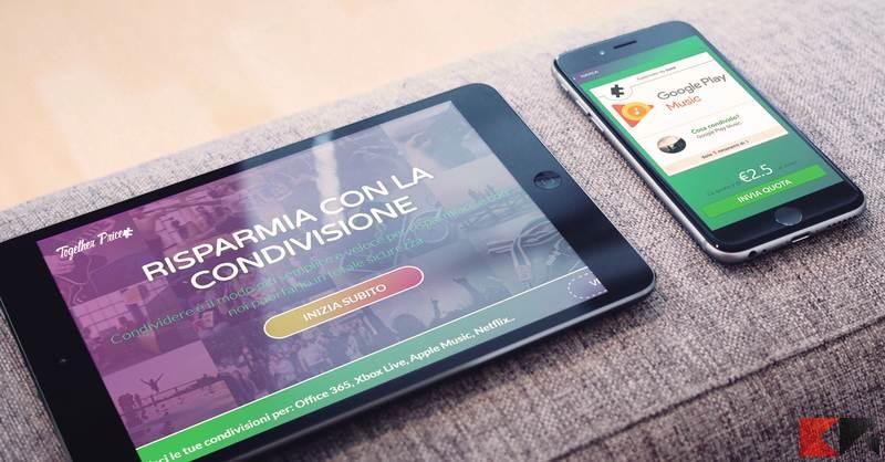 Together Price, la piattaforma tutta italiana per condividere gli abbonamenti