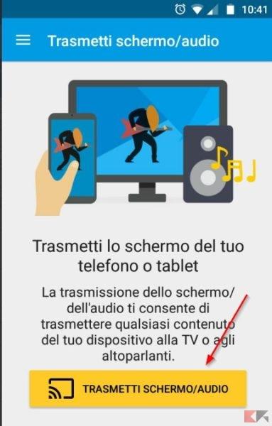 trasmetti-schermo-audio