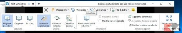 console-visualizza