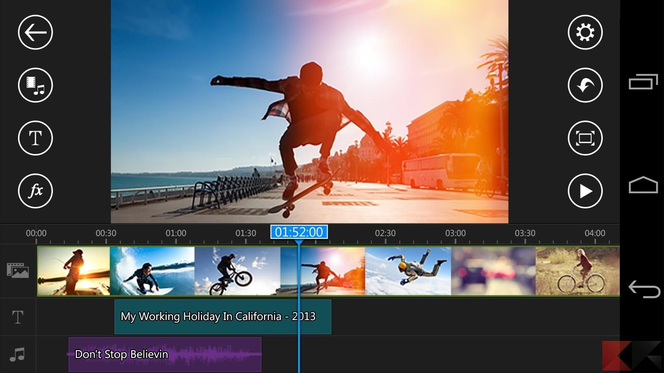 Come tagliare video o modificare l'audio su Android