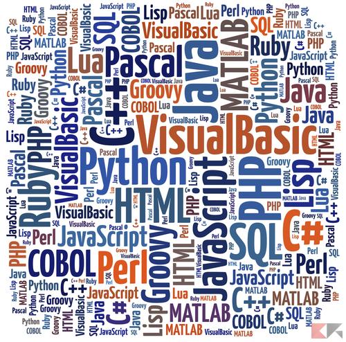 Linguaggi di programmazione più richiesti a lavoro nel 2016