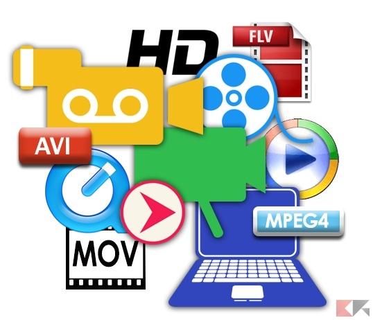 Formati video: differe...