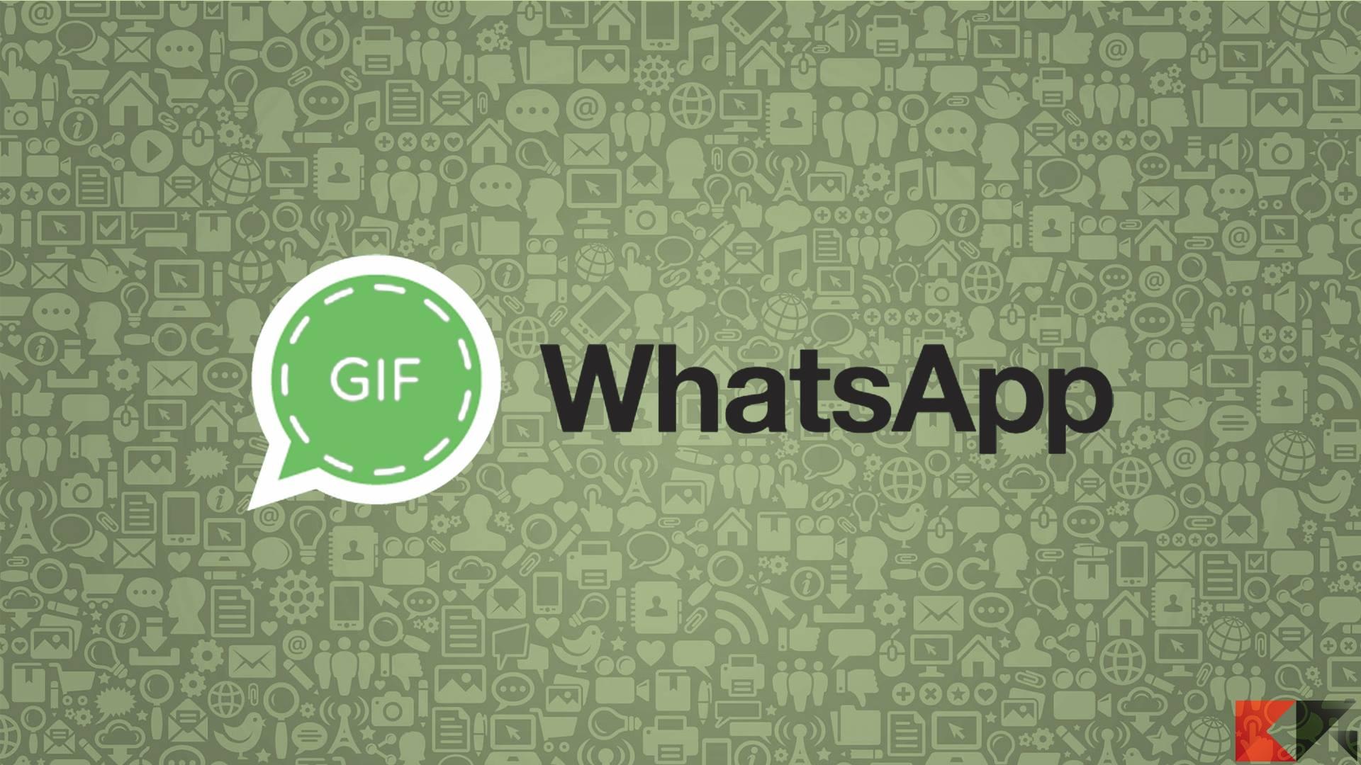 Inviare GIF animate WhatsApp