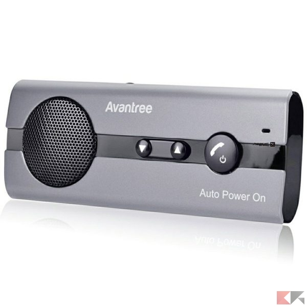 Avantree Kit Vivavoce Bluetooth per Auto
