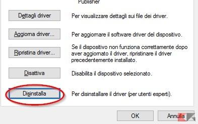 driver-disinstallato