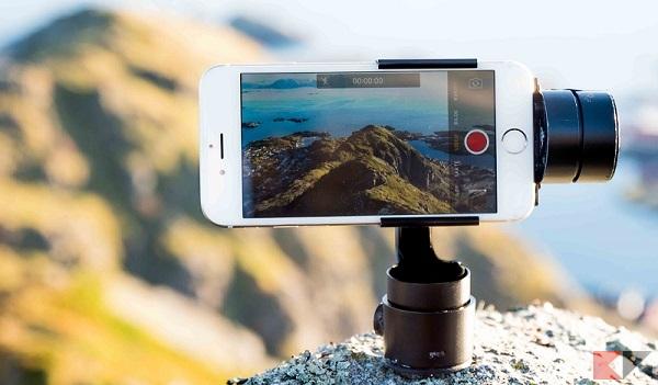 FlowMotion ONE, stabilizzatore per smartphone e action cam