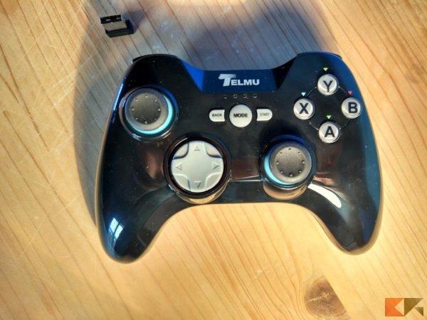 Gamepad Telmu Joystick gaming PC Android Xbox 360
