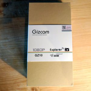 Gizcam GZ10 action cam Wi-Fi 4K 1080p 60fps
