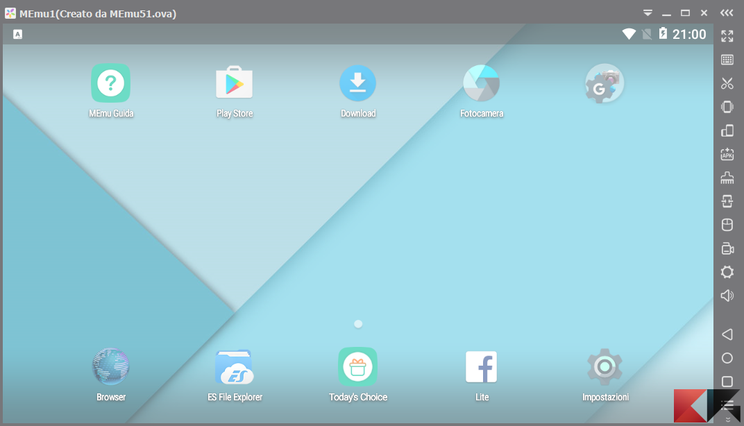 MEmu: un ottimo emulatore Android