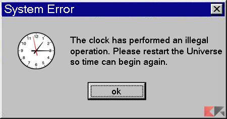 Windows time error