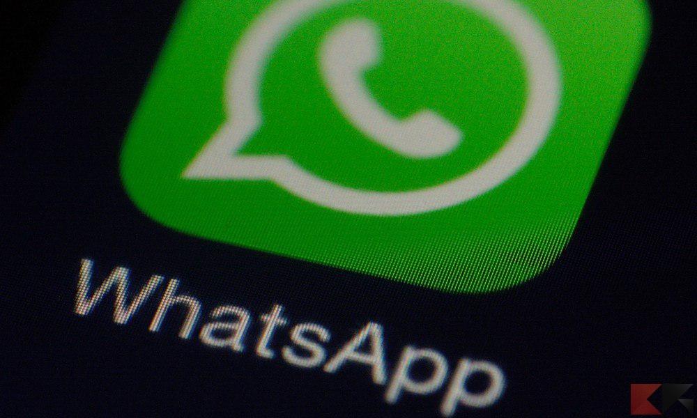 fare una videochiamata whatsapp