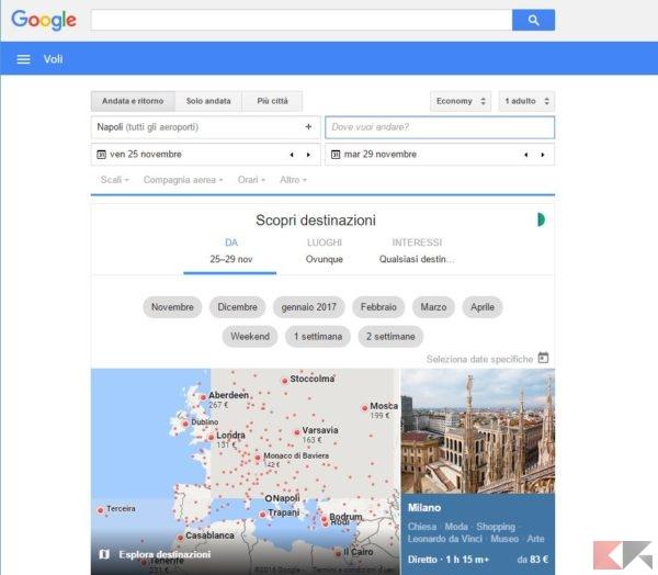 google-voli