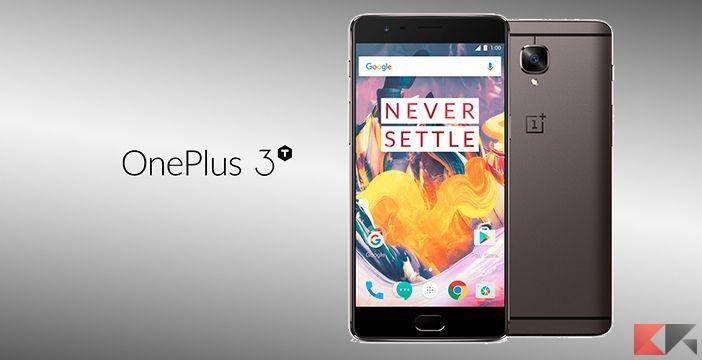 OnePlus 3T: il top di gamma economico
