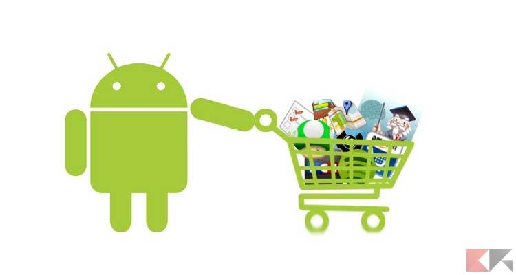 Le migliori alternative al Play Store Android