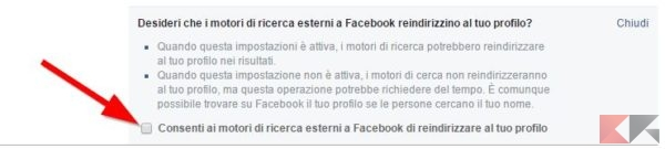 Invisibili su Facebook