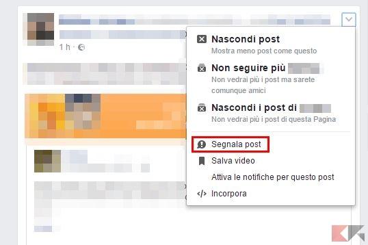 segnalare notizie false bufala facebook