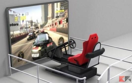 Simulatori di guida per patente imparare a guidare for Simulatore di arredamento