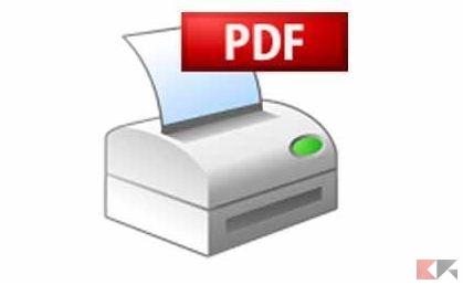 Stampante virtuale PDF: come crearla ed usarla