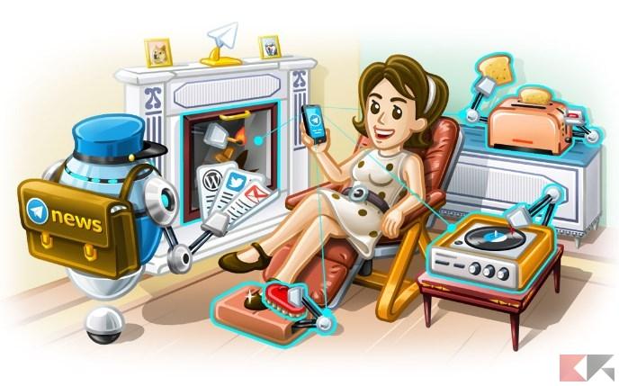 elettrodomestici con Telegram